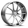 CX875 Brushed Chrome 5 lug