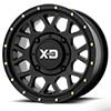XS135 Satin Black 4 lug