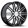 5 LUG HE880 GLOSS BLACK W/ MACHINED FACE
