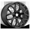 Ashford Matte Gunmetal w/ Gloss Black Face 5 lug