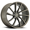 KM691 Spin Matte Bronze 5 lug