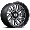 XD826 Surge Satin Black Milled 6 lug