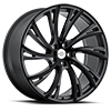 Noble Gloss Gunmetal with Gloss Black Face 5 lug