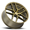5 LUG CAIRO BRONZE W/ BRUSHED BRONZE FACE - 21X9