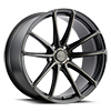 5 LUG MADRID MATTE BLACK W/ MILLED SPOKE & BRUSHED TINTED FACE