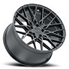 5 LUG PHOENIX DOUBLE BLACK WITH MATTE BLACK WITH GLOSS BLACK FACE