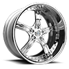 SL150 Chrome 5 lug