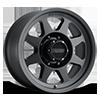 MR701 Matte Black - 18x9 8 lug