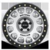 5 LUG MR105 BEADLOCK MACHINED WITH MATTE BLACK RING