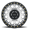 6 LUG MR105 BEADLOCK MACHINED WITH MATTE BLACK RING