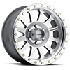 6 LUG MR304 - DOUBLE STANDARD SILVER MACHINED