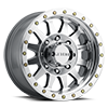 MR304 - Double Standard Silver Machined 8 lug