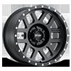 MR306 - Mesh Matte Black 6 lug