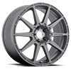 MR501 Rally Matte Gray 5 lug