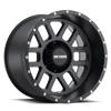 MR606 Matte Black 8 lug