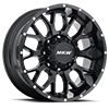 M95 Full Satin Black 8 lug