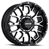 M95 Satin Black Machined Face 8 lug
