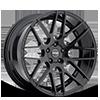 GF7 Gloss Black 5 lug