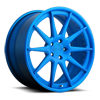 Spa Brushed Matte Pica Blue Tint 5 lug