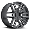 6 LUG 787 BENCHMARK BLACK WITH MILLED SPOKES