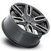 5 LUG 787 BENCHMARK BLACK WITH MILLED SPOKES