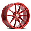 Zuffen Candy Red 5 lug