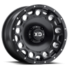 XS129 Holeshot Satin Black 4 lug