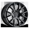 501 Gloss Black 5 lug