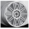 143 Cobalt Silver 5 lug