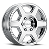 156C Surge Sprinter Van Chrome 6 lug