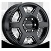 156B Surge Sprinter Van Gloss Black Milled 6 lug
