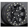 A71-Mamba Matte Black Beadlock 4 lug
