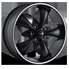 695 Black with Machined Trim 5 lug