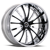 SV15 Chrome w/Black v-inserts 5 lug