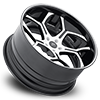 5 LUG SV53-C WHITE AND BLACK