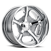 Octane d.concave Silver Polished 5 lug
