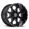 SC-10 Black Milled 5 lug