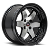 SPT-19 Gloss Black Machined Black Lip 4 lug