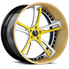 SV32-C Yellow and White 5 lug