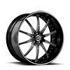 SV41-S Black And White 5 lug