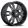 S-34 Sniper Gloss Black Milled 6 lug