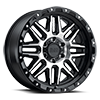 Alamo Gloss Black w/ Machined Face & Stainless Bolts 6 lug
