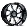 Blaster Gloss Black w/ Milled Spokes 8 lug