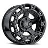 Cinco Gloss Black w/ Stainless Bolts 6 lug