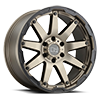 6 LUG OCEANO MATTE BRONZE W/ BLACK LIP EDGE - 20X9.5