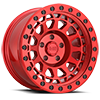 Primm Candy Red with Black Bolts 5 lug