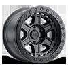 Reno Beadlock Matte Black w/ Black Bolts 6 lug