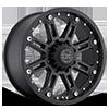 Rockwell Matte Black 6 lug