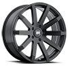 Traverse Matte Black 5 lug