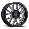 Pismo Gloss Black w/ Milled Spokes 5 lug